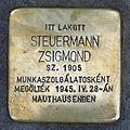 Steuermann Zsigmond stolperstein (Budapest-14 Columbus u 69C).jpg
