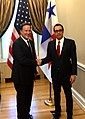 Steven Mnuchin and Juan Carlos Varela at US Treasury.jpg