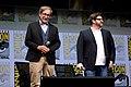 Steven Spielberg & Ernest Cline (36023677912).jpg