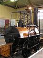 Stockton & Darlington Railway 0-4-0 No. 1 'Locomotion' (1825) Head of Steam, Darlington 30.06.2009 P6300109 (10192716234).jpg