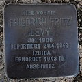 Stolperstein Dahn Grabenstraße 11 Friedrich Levy.jpg