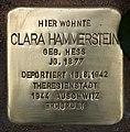 Stolperstein Delbrückstraße 17 (Grune) Clara Hammerstein.jpg