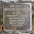 Stolperstein Demminer Str 13 (Gesbr) Hermann Scheffler.jpg