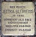 Stolperstein Stierstr 19 (Fried) Jettka Bleiweiss.jpg