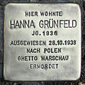 Stolperstein Verden - Hanna Grünfeld (1936).jpg