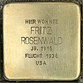 Stolperstein für Fritz Rosenwald (Köln).jpg