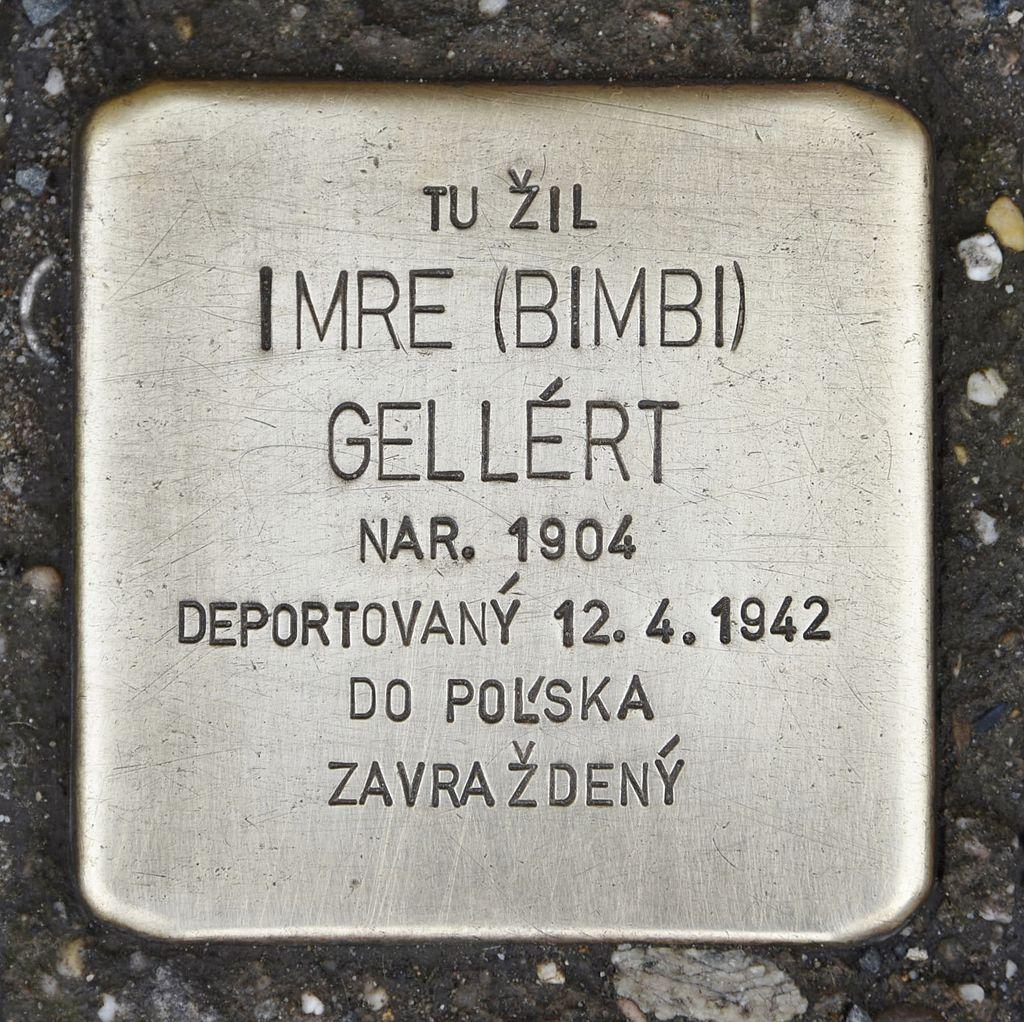 Stolperstein für Imre Gellért.JPG
