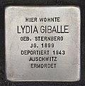 Stolperstein für Lydia Giballe.JPG
