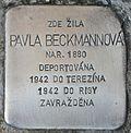 Stolperstein für Pavla Beckmannova.jpg