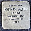Stolperstein schleusenstr 15 valfer heinrich.JPG