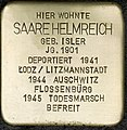 Stolpersteine Köln Saare Helmreich Benesisstraße 38 11.jpg