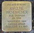 Stolpersteine K. Wachenheimer Esch-Alzette, 23 rue de l'Alzette 01.jpg