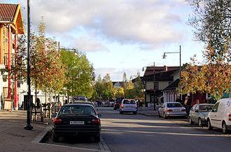 Ullensaker - Image: Storgata Jessheim