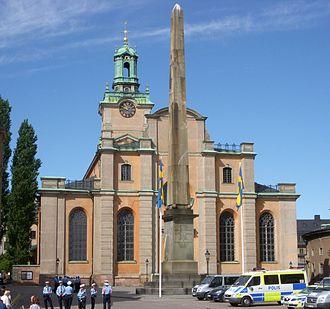 Storkyrkan - Image: Storkyrkan 19 juni 2010