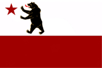 Digital Reproduction Of The First Bear Flag