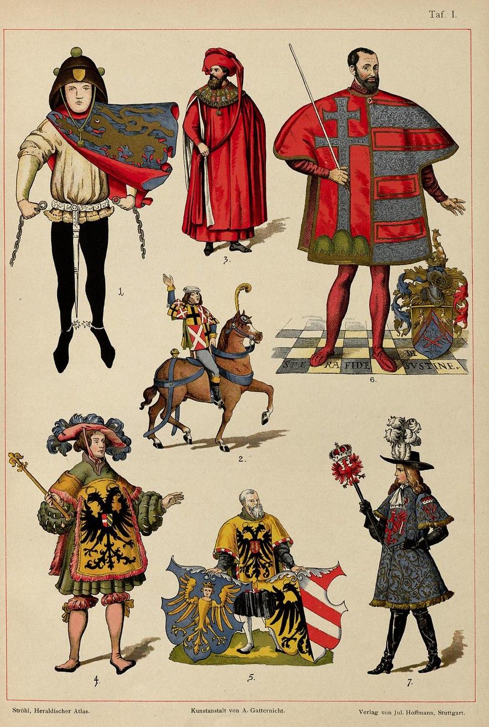 Ströhl Heraldischer Atlas t01 3