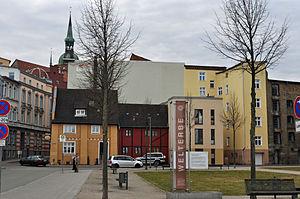 Stralsund, Fährwall, Ecke Fährstraße (2012-03-04), by Klugschnacker in Wikipedia.jpg