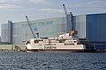Stralsund, Volkswerft, Scandlines-Fähre Berlin, 5 (2012-01-26) by Klugschnacker in Wikipedia.jpg