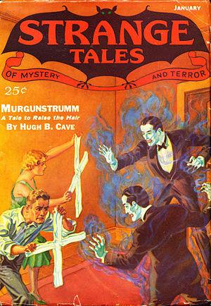 Hugh B. Cave - Image: Strange tales 193301