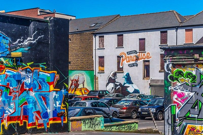 File:Street Art, Tivoli Car Park (Francis Street) - panoramio (15).jpg