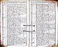 Subačiaus RKB 1832-1838 krikšto metrikų knyga 144.jpg