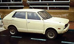 1972 Subaru Rex 4-door sedan