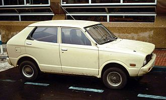 Subaru Rex - Subaru 500 or 600, export version