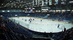 Sudbury Community Arena - Image: Sudbury Community Arena Interior