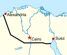 Location of Sumed pipeline