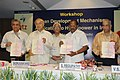 Sushil Kumar Shinde releasing the 'Report on Seventeenth Electric Power Survey of India' at the Workshop on Clean Development Mechanism Application to Hydropower in India, in New Delhi on May 24, 2007.jpg