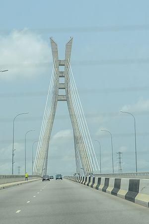 Lekki - Image: Suspended Bridge, Osbon Lagos 02