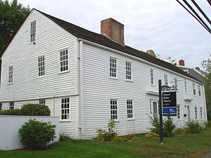 Swett–Ilsley House - Swett–Ilsley House, Newbury, Massachusetts, front view