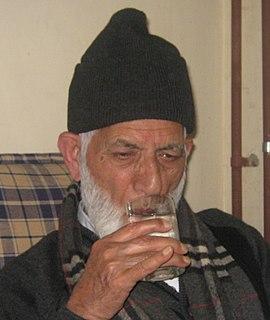 Syed Ali Shah Geelani Kashmiri separatist leader
