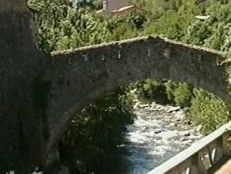 Têt (river) - Têt near Villefranche-de-Conflent