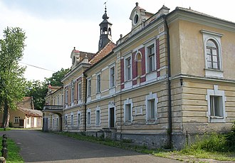 Joseph Radetzky von Radetz - Chateau Třebnice, the birthplace of Radetzky