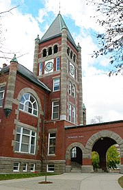 Thompson Hall, built in 1892