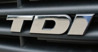 Turbocharged direct injection - TDI badge