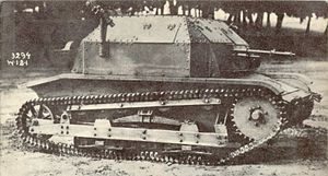 TKS - TK-3 tankette