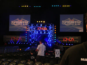 The set used at Bound for Glory IV