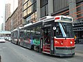 TTC 501 Queen ALRV 4213 at Queen and Bay, November 30, 2013.JPG