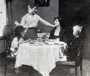 Table manners - Table Manners in the Nursery, from a 1916 magazine article from the United States