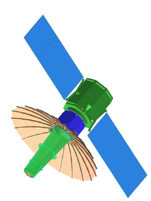 TacSat-4 - Computer model of TacSat-4