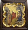 Taddeo gaddi, storie di cristo e di s. francesco (armadio di s. croce), 1335-40 ca. 05 adorazione dei magi.JPG