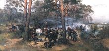Tadeusz Ajdukiewicz Scena z powstania styczniowego 1875.PNG