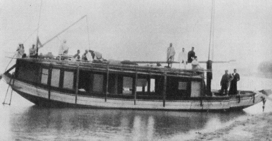 Tagore family boat Padma