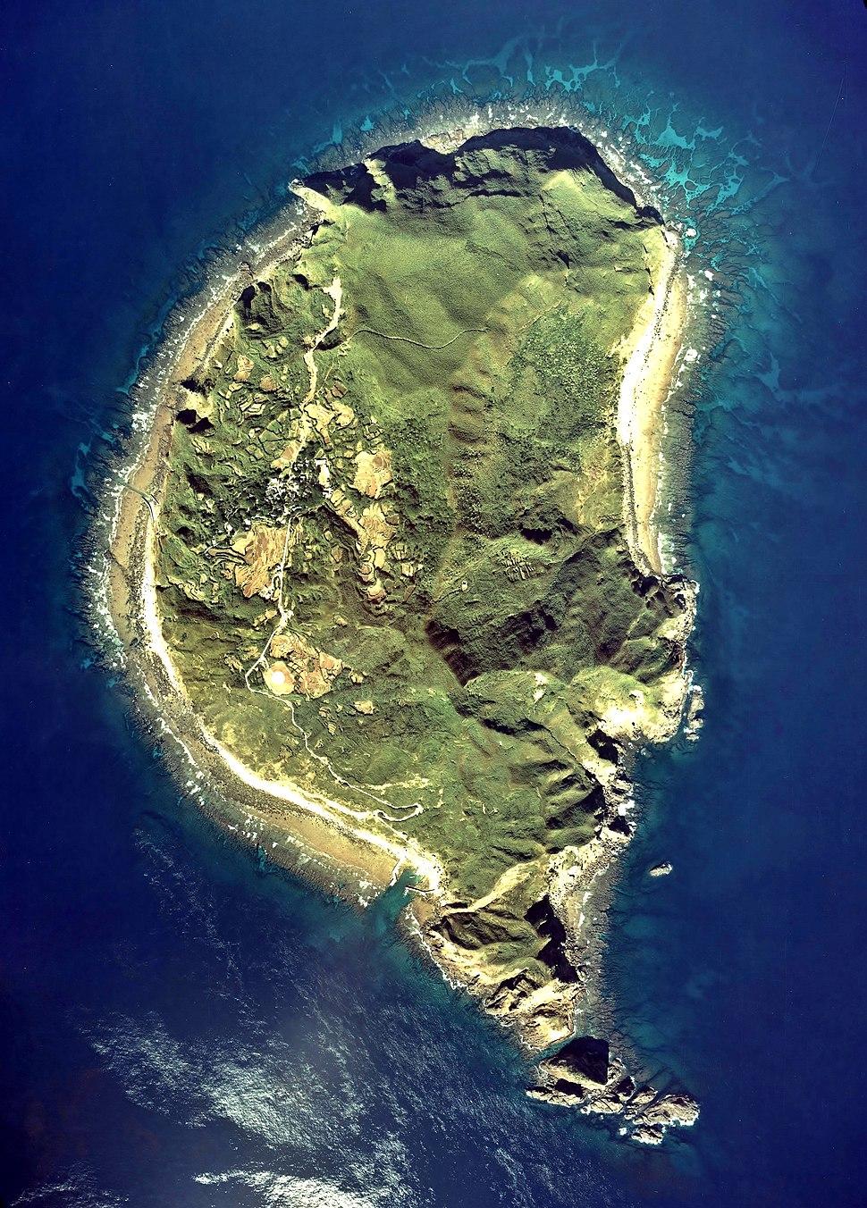 Taira-Jima Tokara Island Aerial Photograph
