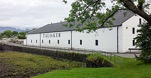 Talisker distillery - The distillery