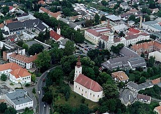 Tamási Town in Tolna, Hungary