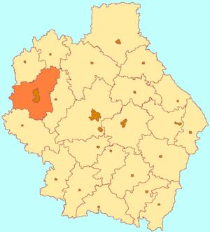 Michurinsky District - Image: Tambov oblast Michurinsk