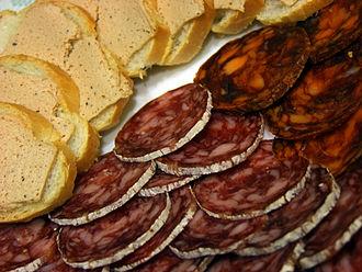 Salchichón - Pâté de ibérico, salchichón and chorizo